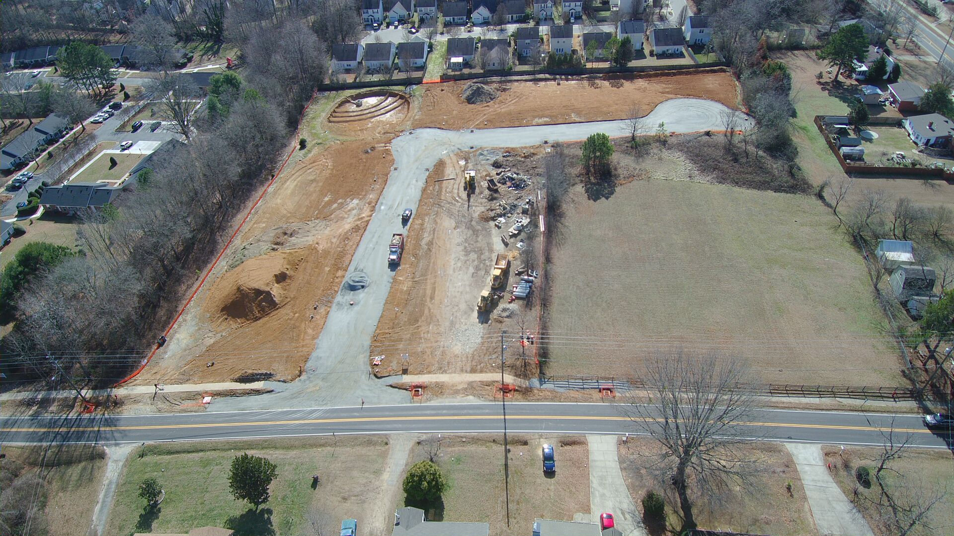 Goldenview Subdivision under development 1