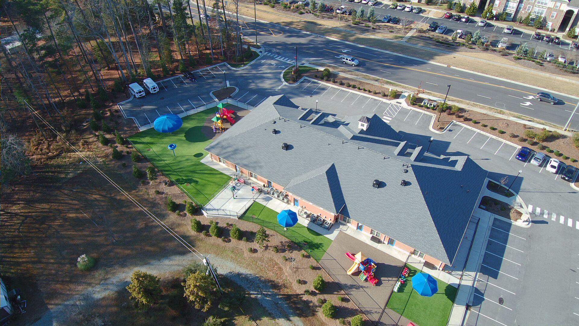 Olive Chapel West underground detention and landscape design